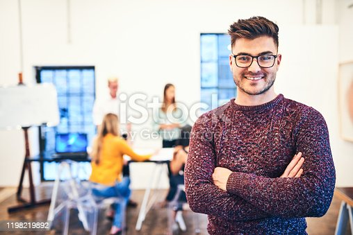 624700110istockphoto Proud of what our team achieves everyday 1198219892