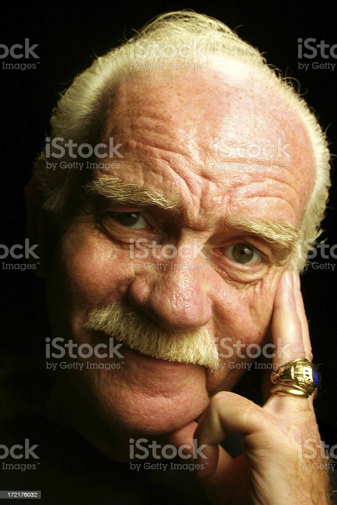 Proud Pap royalty-free stock photo