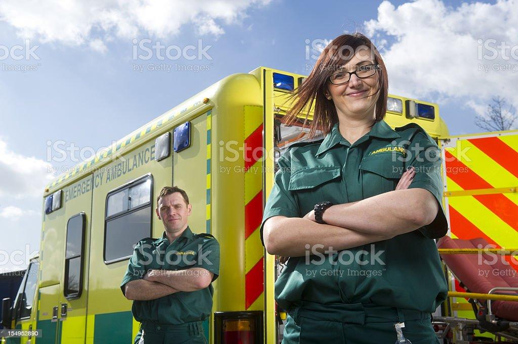 Fier auxiliaires médicaux - Photo