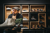 istock Proud shoes owner 1292250898