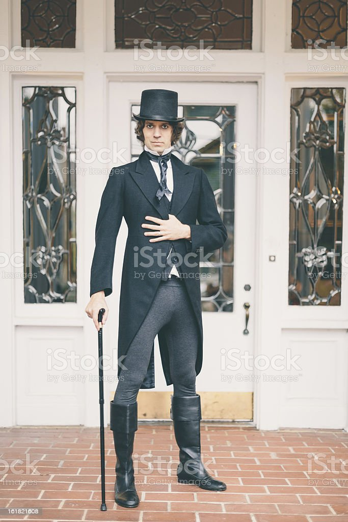 Proud, Strange and Elegant Portrait stock photo