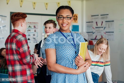 istock Proud Teacher 911026784