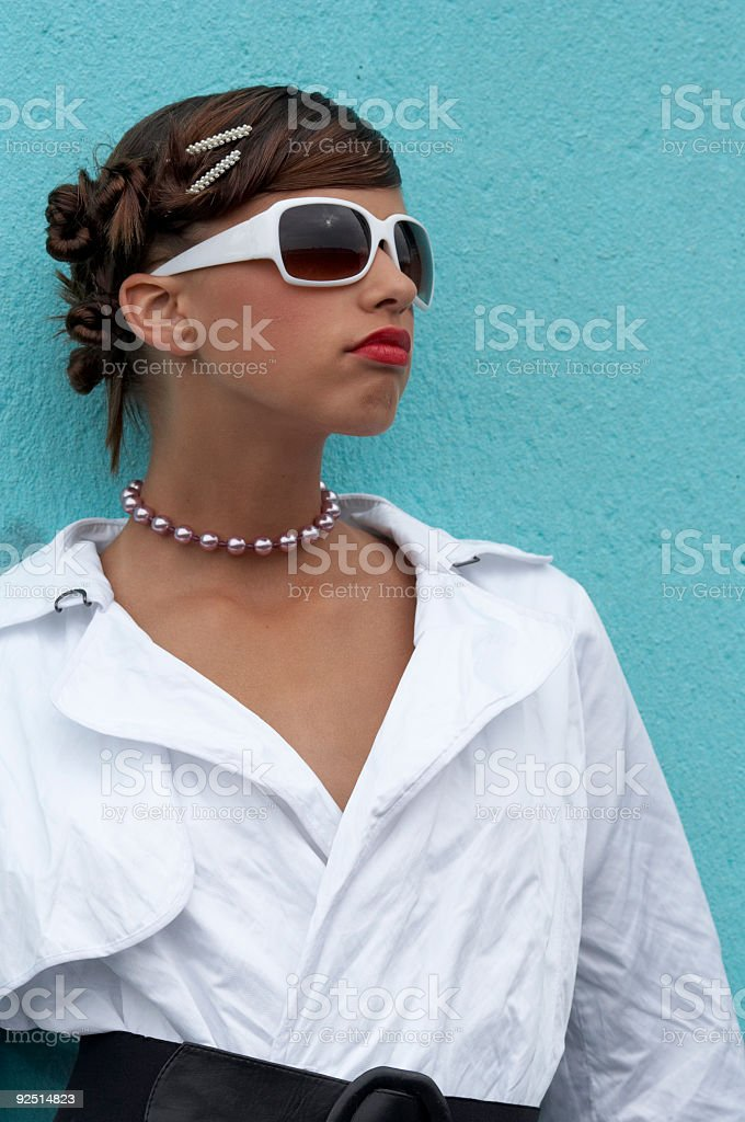 Proud Teen royalty-free stock photo