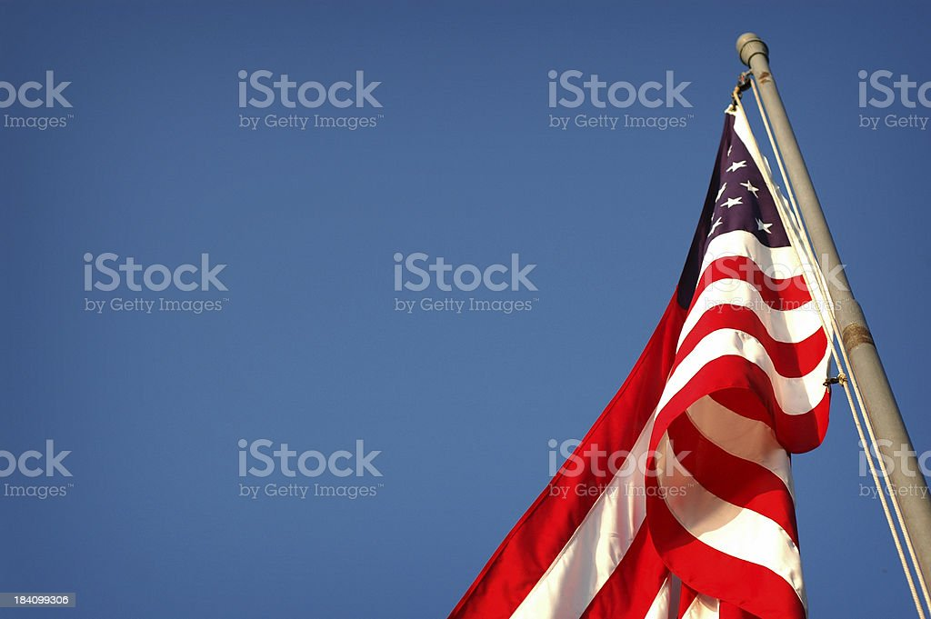 Proud to be an American... royalty-free stock photo