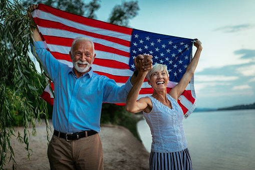 istock Proud to be an American 973573916