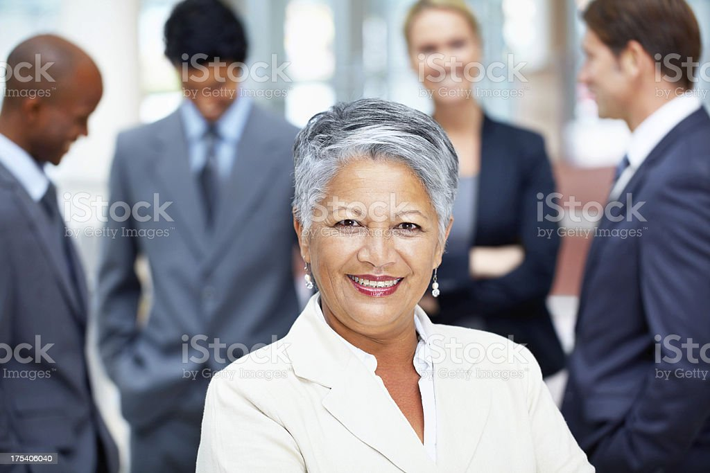Proud to be in business royalty-free stock photo