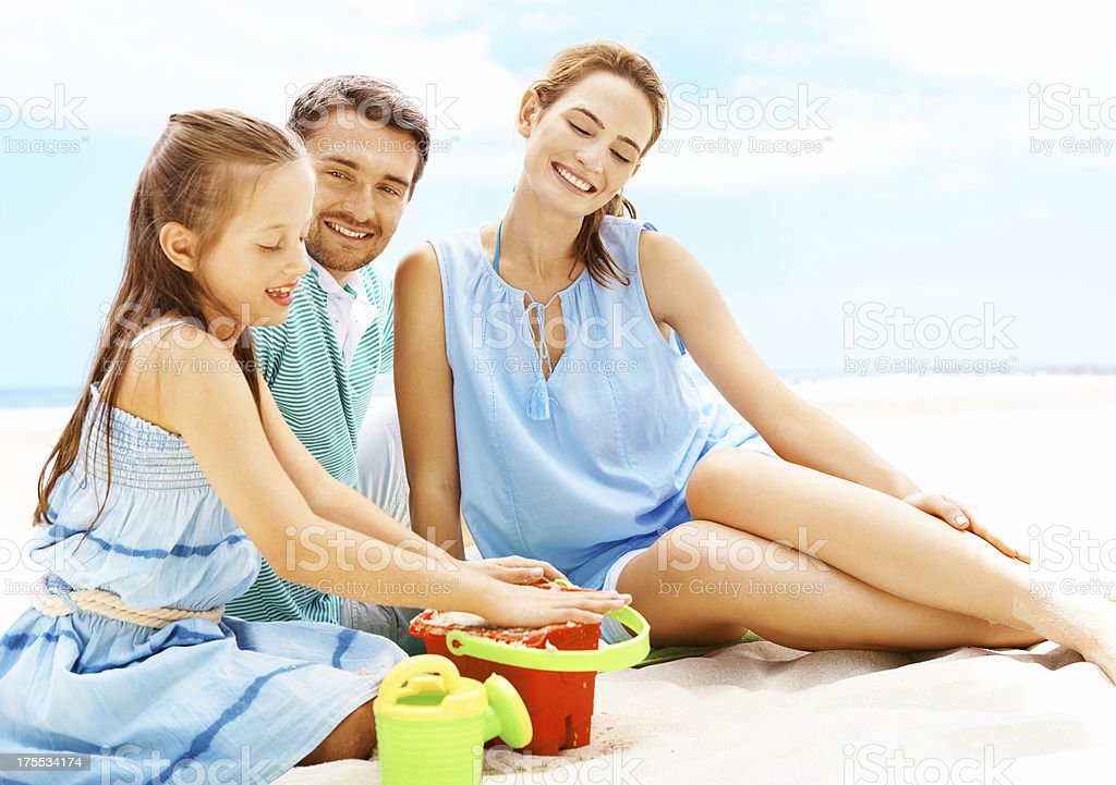 Proud to have a perfect daughter royalty-free stock photo