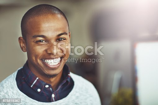 istock Proud with how far I've come in my career 875819362