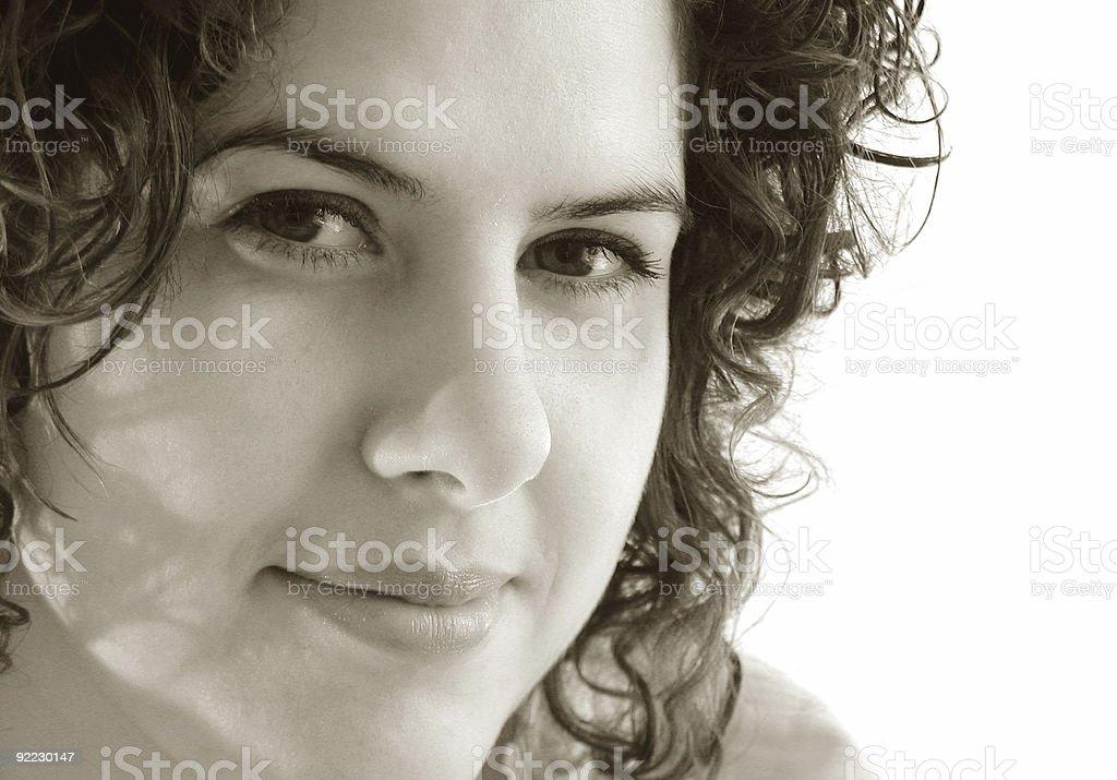 Proud Woman royalty-free stock photo