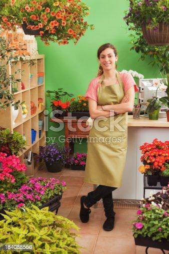 istock Proud Young Garden Center Entrepreneur Small Business Owner Portrait 184088556