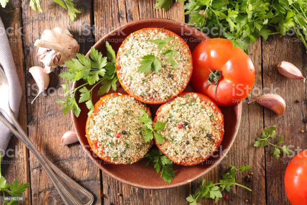 provencal tomato royalty-free stock photo