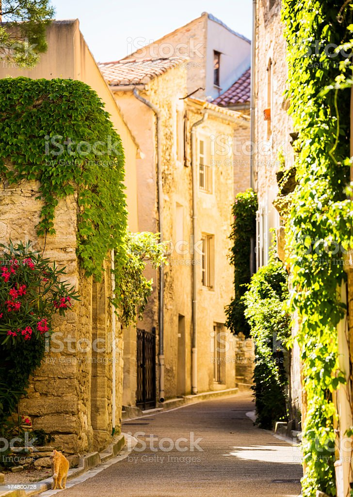Provencal town royalty-free stock photo
