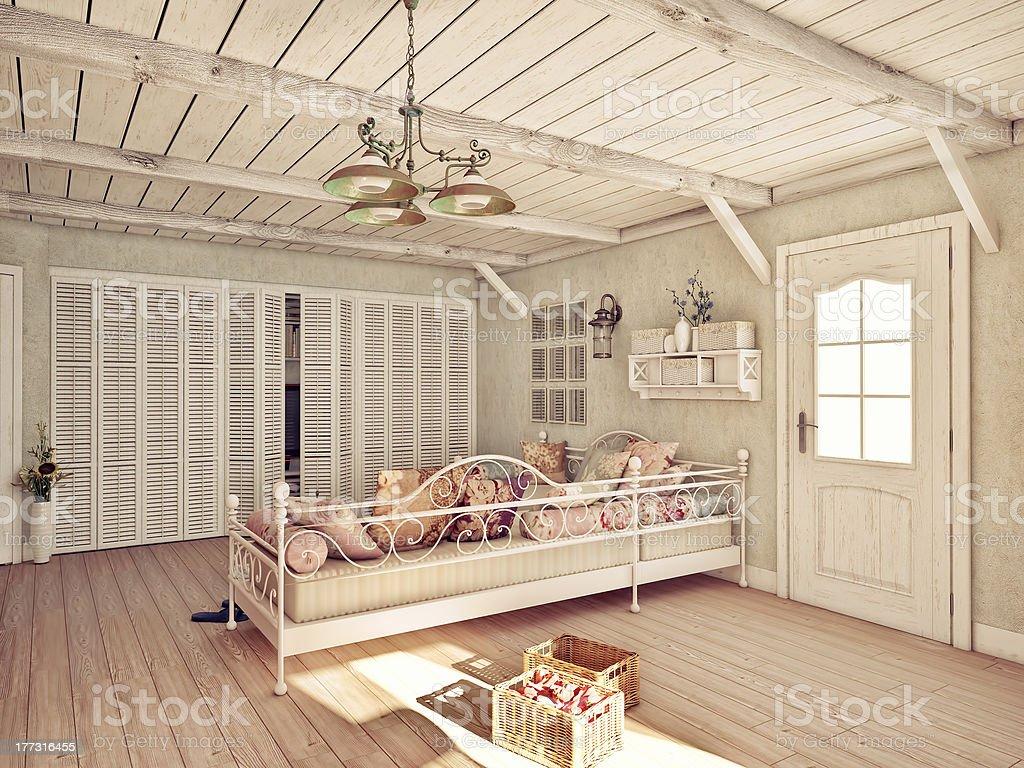 Provence  interior royalty-free stock photo