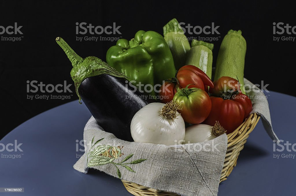Provence vegetables royalty-free stock photo