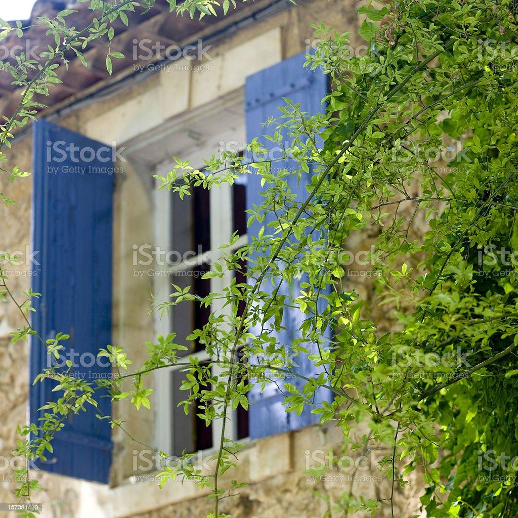 Provence window royalty-free stock photo