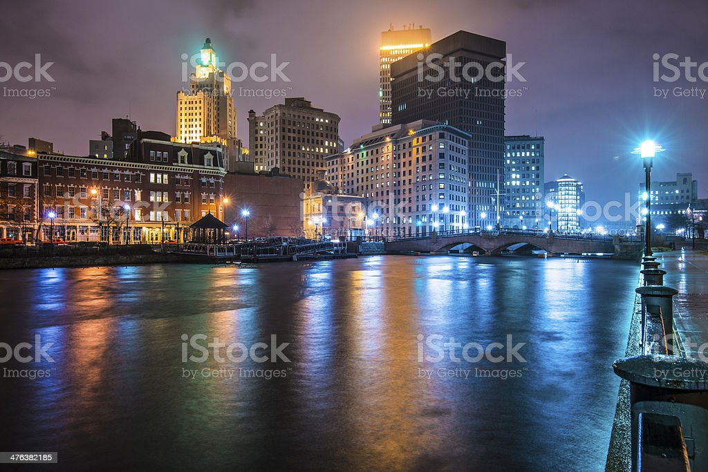 Providence Cityscape stock photo