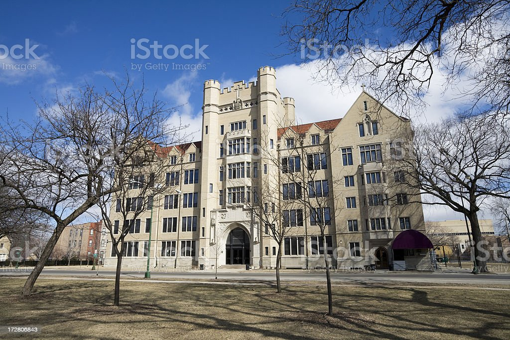 Providence High School Garfield park royalty-free stock photo