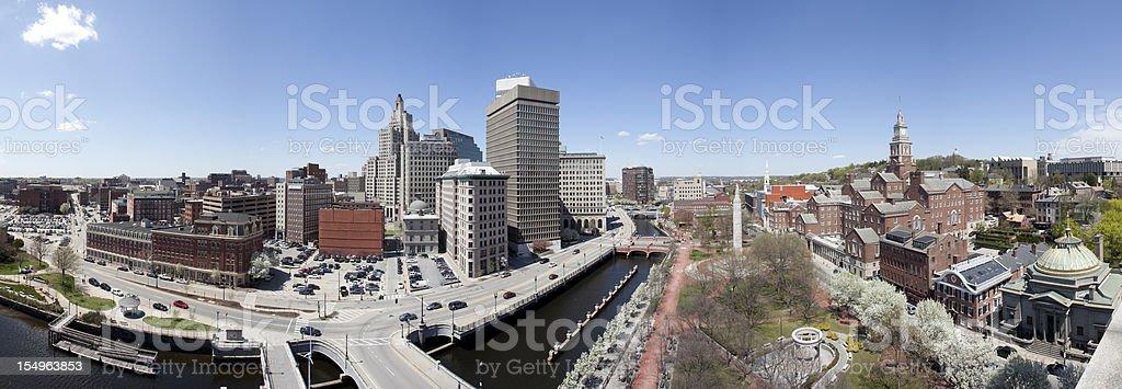 Providence (RI) Panorama stock photo