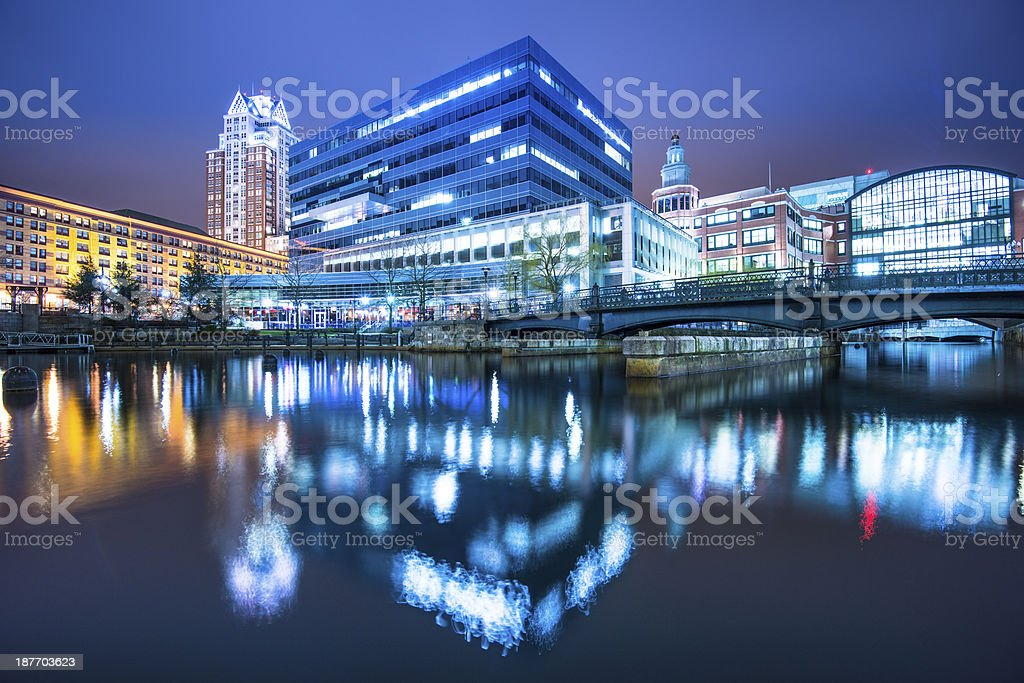 Providence Rhode Island stock photo