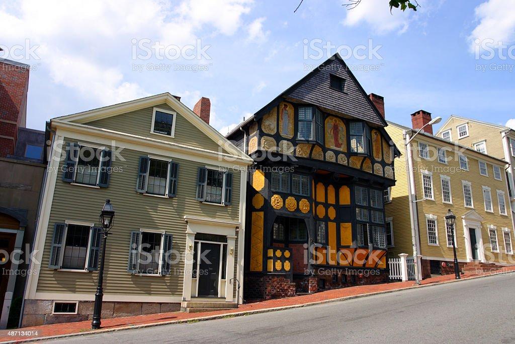 Providence, Rhode Island stock photo
