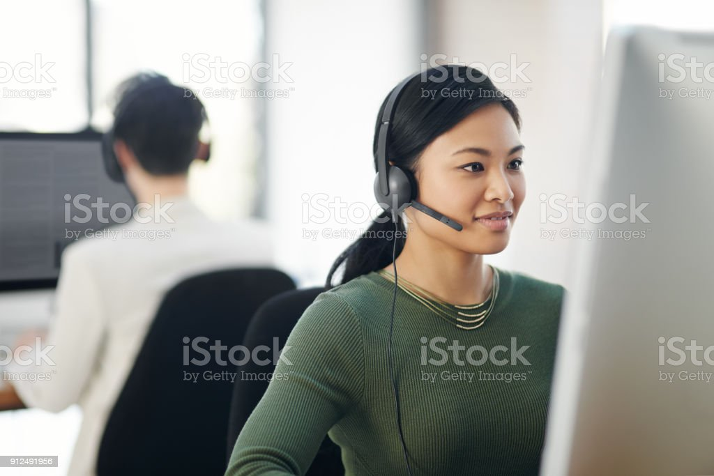 Providing a service you can count on stock photo