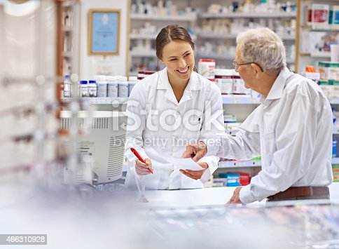 istock Providing clients with all the information they need 466310928