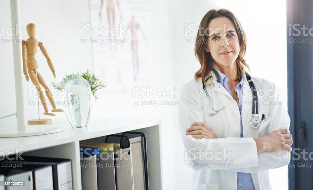 Providing you with top quality primary care stock photo