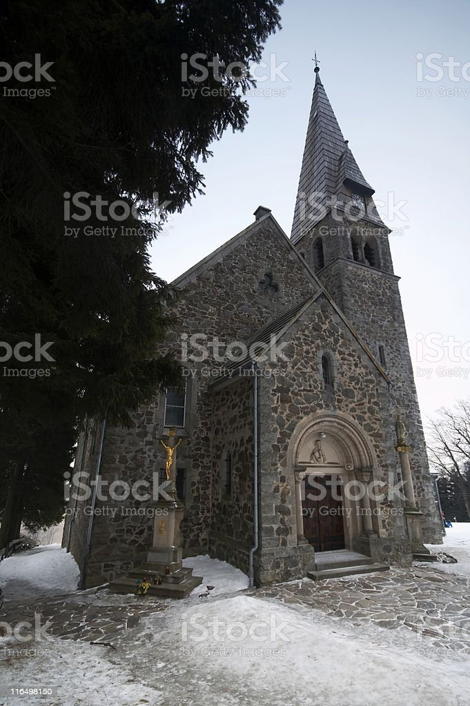Province Church royalty-free stock photo