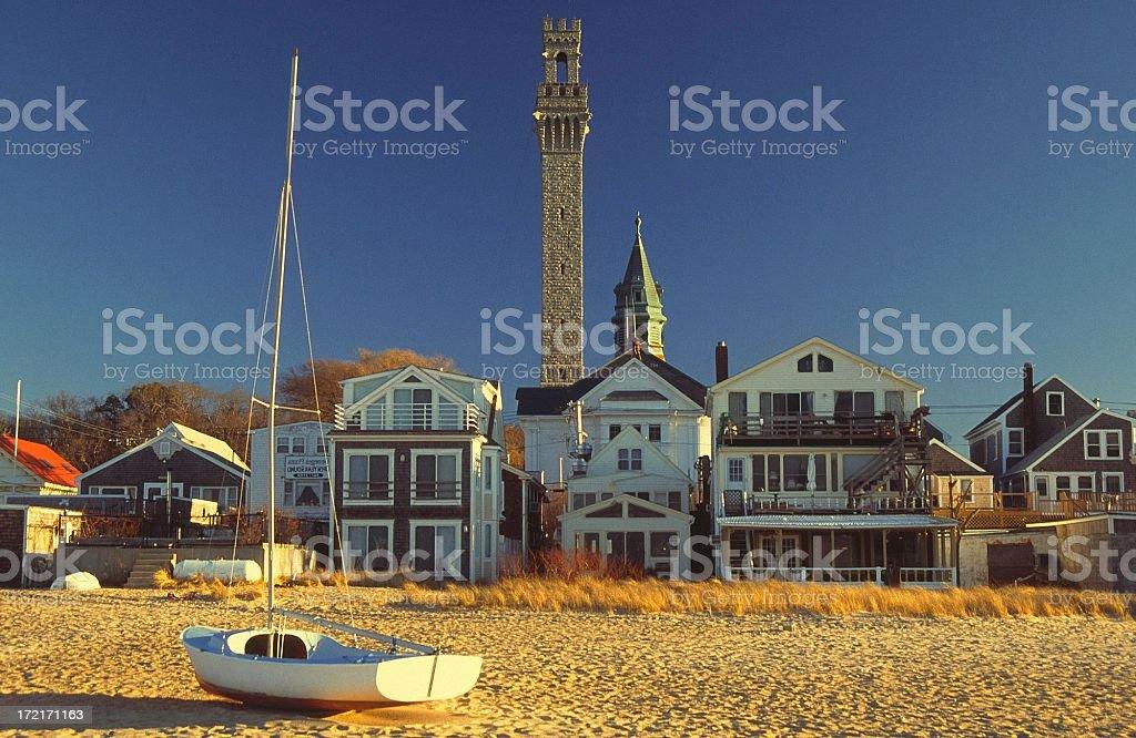 Provincetown Cape Cod stock photo