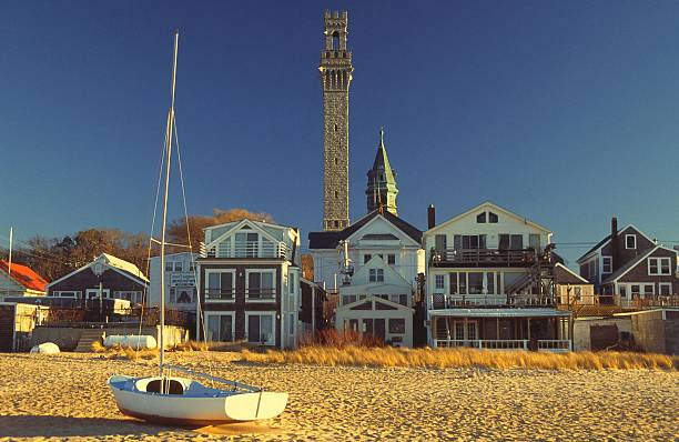"""Provincetown Cape Cod """"The small village of Provincetown,Cape Cod"""" provincetown stock pictures, royalty-free photos & images"""