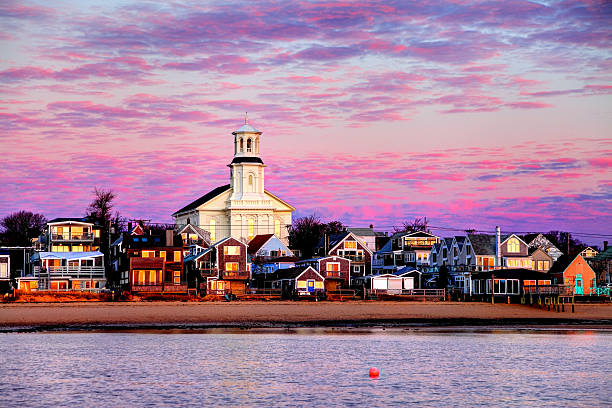 Provincetown Cape Cod Provincetown is a town located at the extreme tip of Cape Cod. Sometimes called P-town the town is known for its beaches, harbor, artists, tourist industry, and its reputation as a gay village.  provincetown stock pictures, royalty-free photos & images