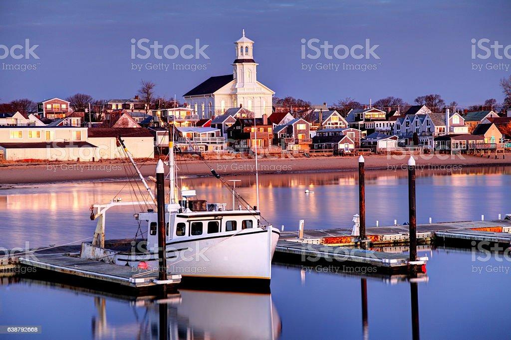 Provincetown, Cape Cod stock photo