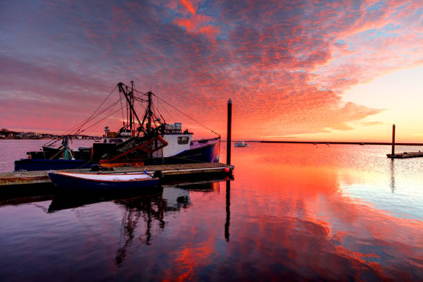 Provincetown, Cape Cod Provincetown Harbor is a large natural harbor located in the town of Provincetown, Massachusetts. Cape Cod is famous, worldwide, as a coastal vacation destination with some of New England's premier beach destinations provincetown stock pictures, royalty-free photos & images