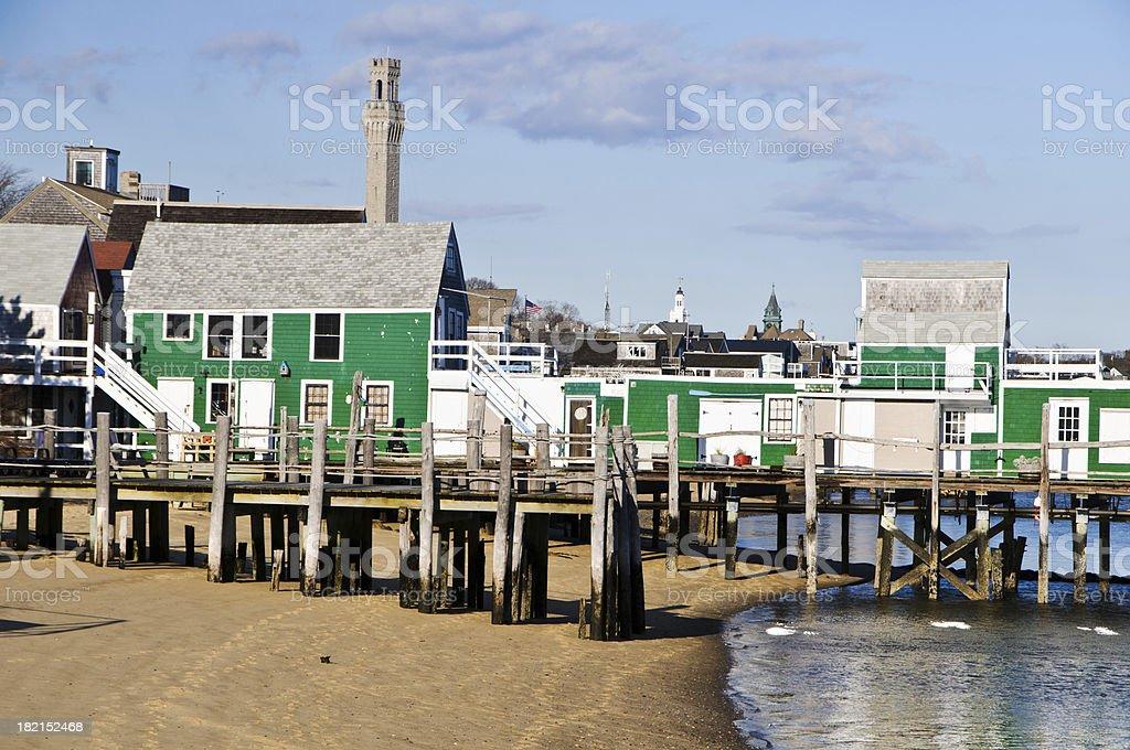 Provincetown Fish Pier Detail stock photo