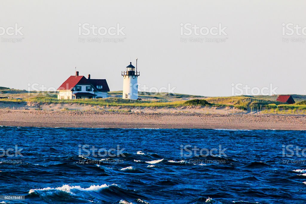 provincetown lighthouse stock photo