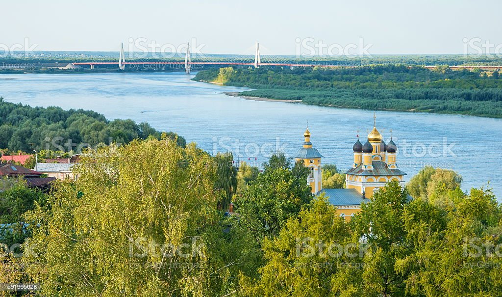 Provincial City Murom stock photo