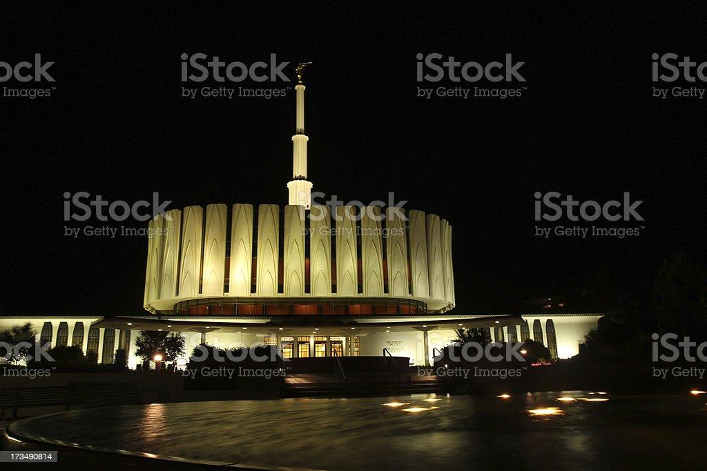 Provo Temple stock photo