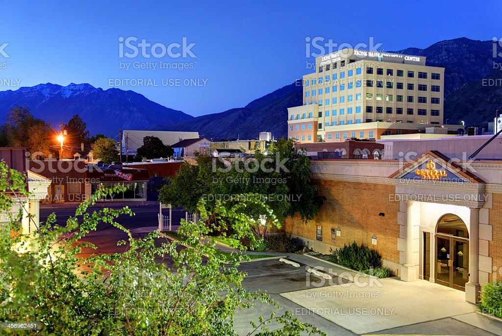 Provo, Utah stock photo