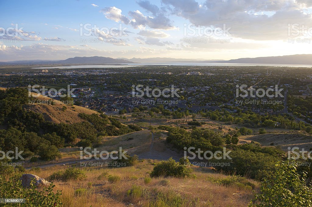 Provo, Utah, USA stock photo