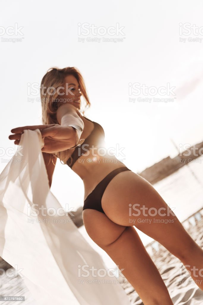 Provocative and sensual. stock photo