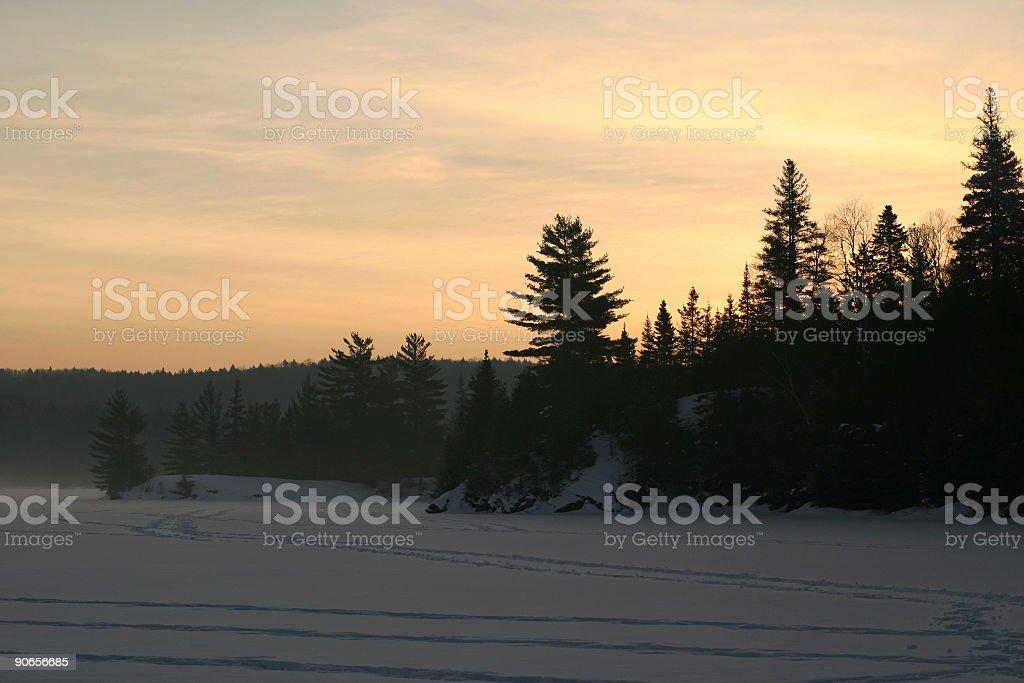 Provoking Lake 2 royalty-free stock photo