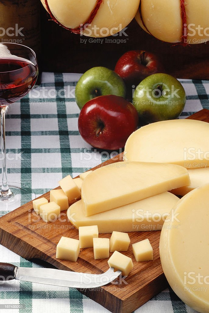 Provolene Cheese royalty-free stock photo