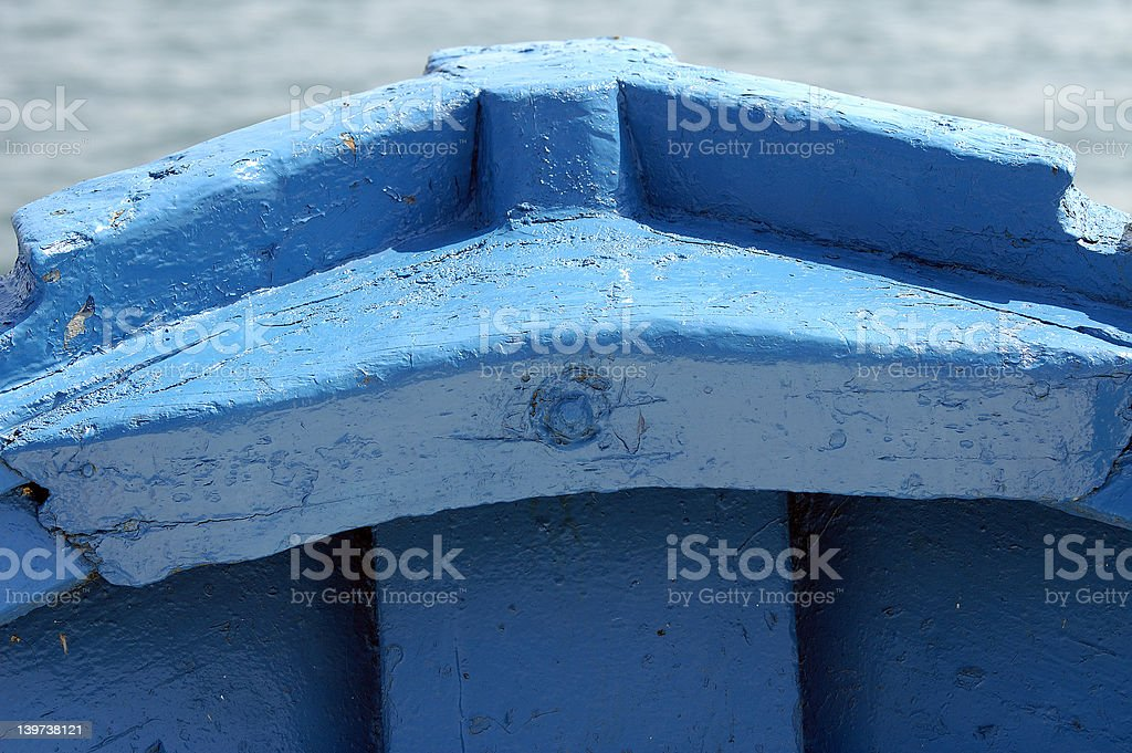 Prow royalty-free stock photo