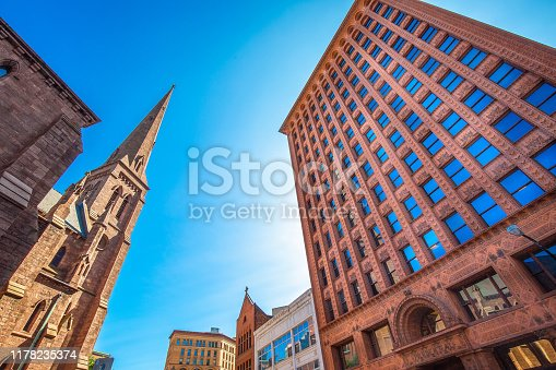 Prudential Guaranty Building in Buffalo downtown