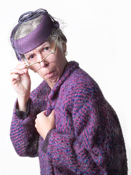 Mean Old Lady Stock Photos, Pictures & Royalty-Free Images ...