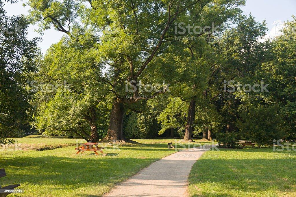 Pruhonice Park, Prague, Czech Republic royalty-free stock photo