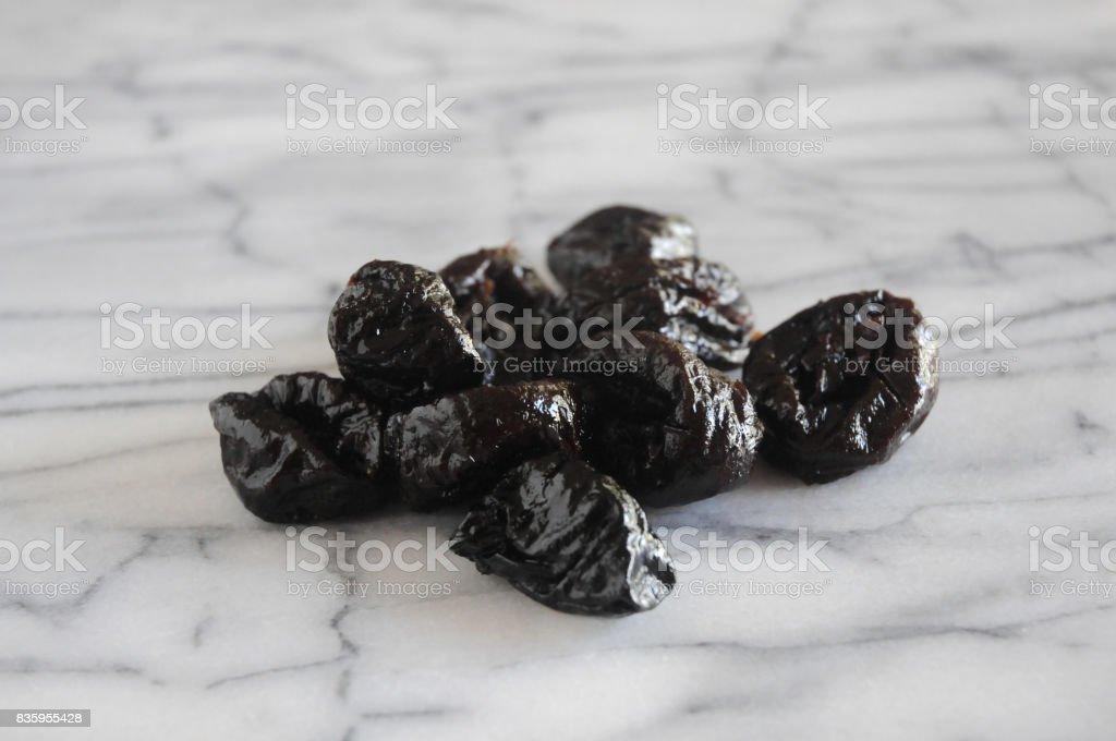 Prunes stock photo