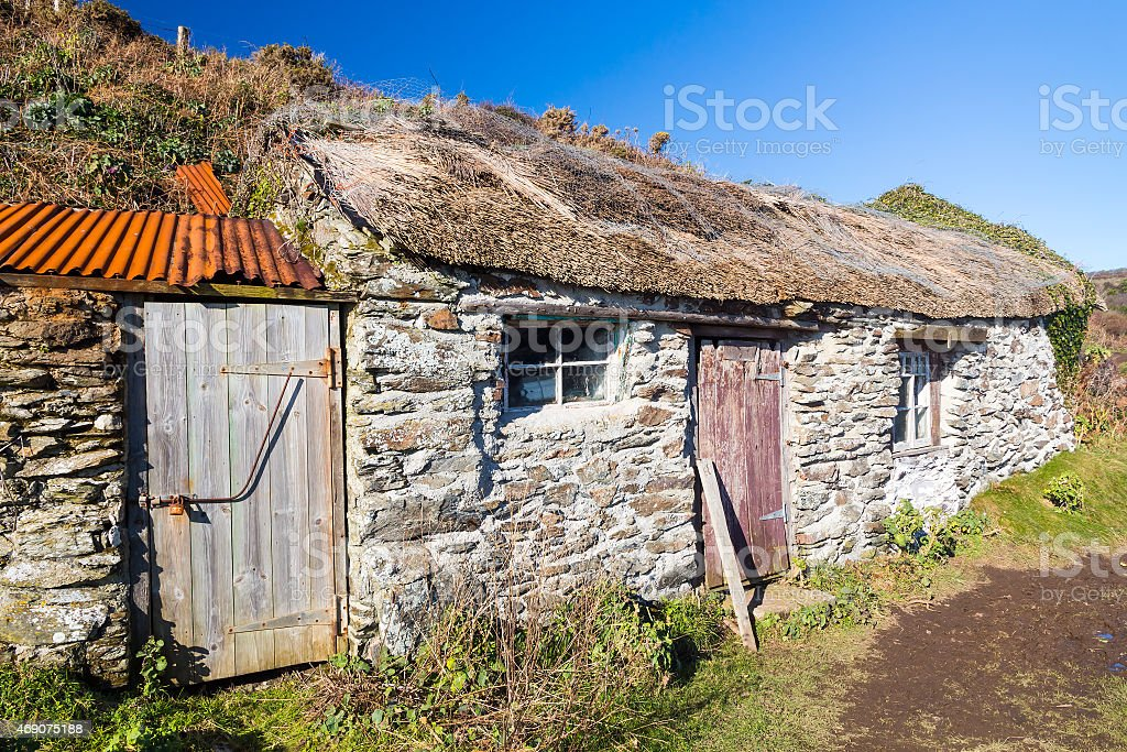 Prussia Cove Cornwall England royalty-free stock photo