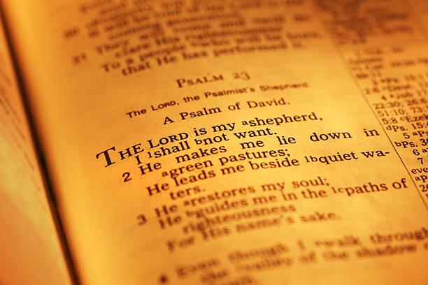 psaltery 23 - psalm stock-fotos und bilder