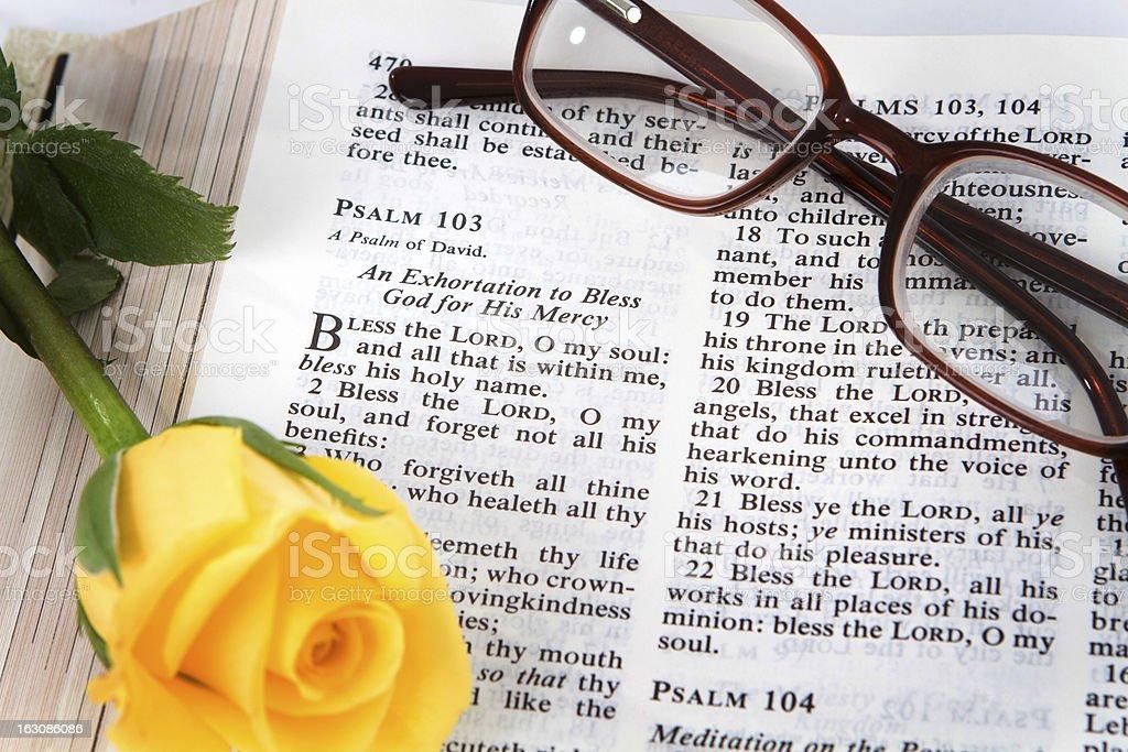 Psalms 103 royalty-free stock photo